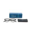 OBLUE akiniai su melynu filtru be dioptriju su medziaginiu dekliuku kuris tinka valyti akinius